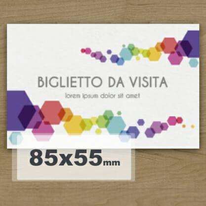 biglietto da visita 8 5x5 5 stampa su carta biglietti da visita